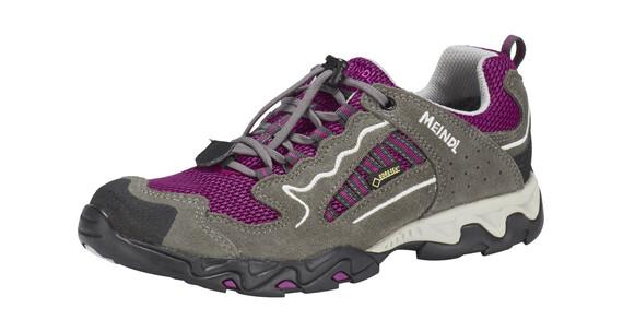 Meindl SX 1 GTX - Zapatillas deportivas Niños - gris/rosa